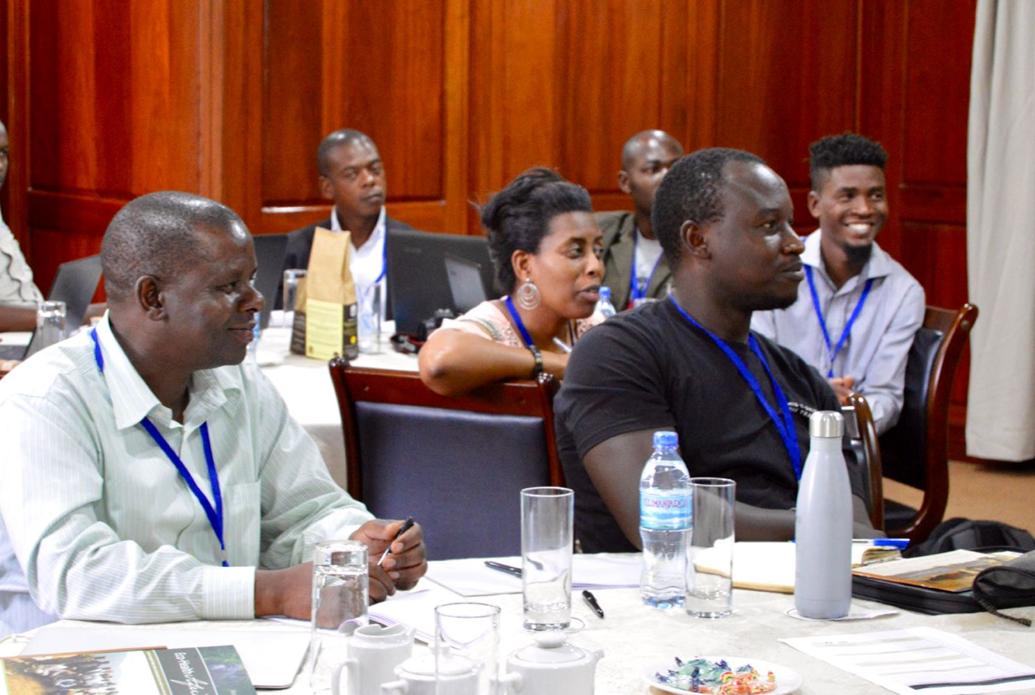 Participants in the Community Engagement in Conservation workshop